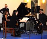 Jelena Dimitrijević, Veljko Klenkovski i Neda Hofman u kompoziciji Branke Popović