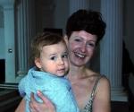 Milana Zarić sa sinom