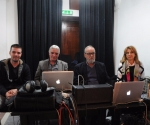 Miloš i Zoran Marinković, ton majstori, Srđan Hofman i Mihaela Vozganian, kompozitori