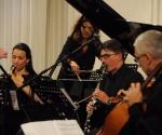 Sanja Romić, oboa Neda Hofman, klavir Veljko Klenkovski, klarinet Srđan Sretenović, čelo