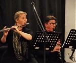 Marina Nenadović, flauta Veljko Klenkovski, klarinet