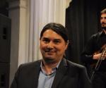 Kompozitor Dragan Tomić zadovoljan izvođenjem Konstantinove fuge za gudače