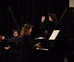 Jovanka Kerković Aranđelović solista u delu Crno-beli koncert Klaudije Montero (Argentina)