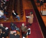 Ksenija Stevanović čita obrazloženje žirija za najboljeg promotera tokom prethodne godine