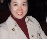 Kompozitorka Venhui Ži nakon izvođenja kompozicije Kad sunčevi zraci dođu