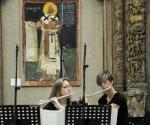Neda Arsenijević i Katarina Regodić, flaute
