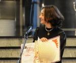 Dobitnica nagrade Mokranjac Aleksandra Vrebalov