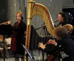 Stana Krstajić, flauta Sanja Romić, oboa Milena Stanišić, harfa