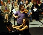 Marija Misita, violina i Nataša Mitrović klavir