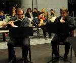 Ljubiša Jovanović, flauta, Dragan Lazić, oboa, Ognjen Popović, klarinet, Igor Lazić, horna i Goran Marinković