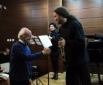 Kompozitor Slobodan Atanacković i Trio Pokret