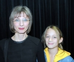 Tatjana Milošević, kompozitorka sa kćerkom