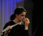 Koncert sjajne mlade flautistkinje Hanan Hadžajlić, flauta solo, sa trakom, sa procesorom zvuka