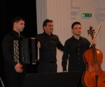 Nikola Peković, harmonika,  Nemanja Stanković, violončelo i Slobodan Gerić, kontrabas