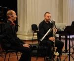 Vladimir Dinić, bariton i Predrag Nedeljković, bas klarinet