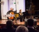 Kompoziciju Ivane Ognjanović izveli su Đorđe Milošević, violončelo i  Bojana Šumanjski, klavir