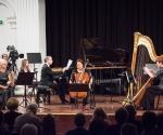 Kompoziciju Mirjane Živković izveli su Edit Makedonska, violina, Sandra Belić, violončelo, Gorana Ćurgus, harfa, Uki Ovaskainen, klavir