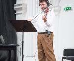 Rastko Popović, viola izveo je kompoziciju Gorana Marinkovića