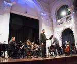 Vuk Zekić, bariton sa ansamblom Gradilište izveo je kompoziciju Draška Adžića
