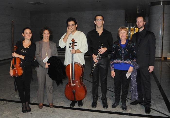Meitar ensemble sa Ivanom Trišić, predsednicom UKSa i H.E. Alona Fisher Kamm